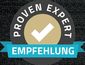 Empfohlen von Proven Exppert